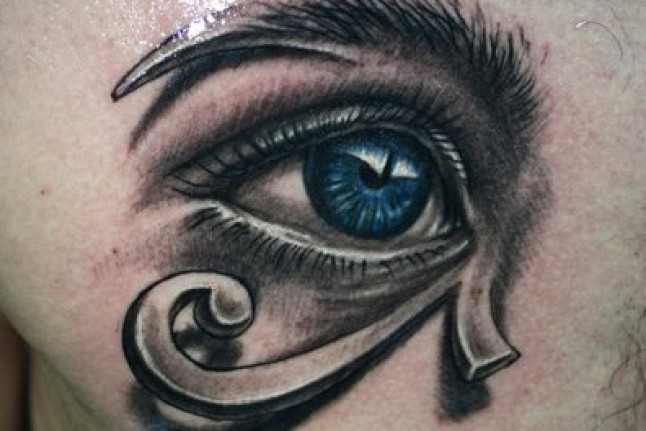 3D Eye of Horus Tattoo For Men