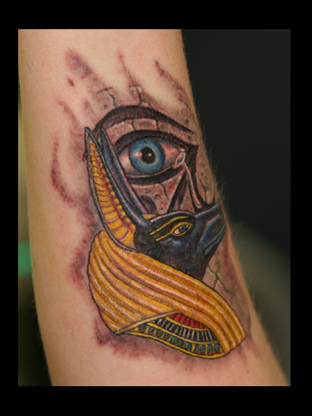 Horus Eye Tattoo Images & Designs