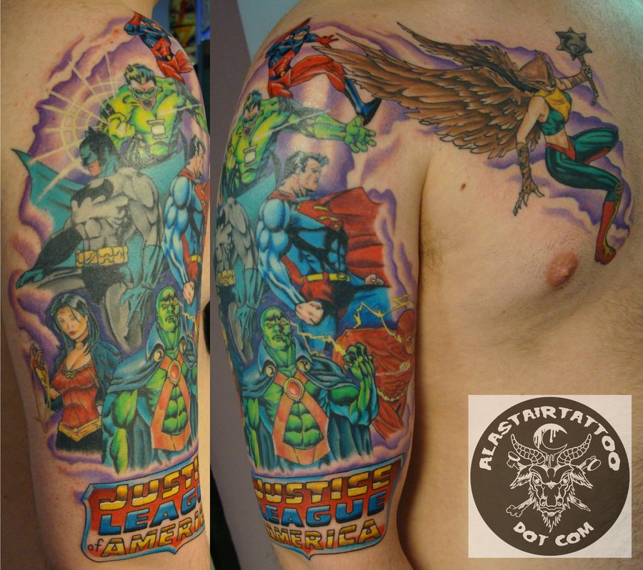 Justice Tattoo Images & Designs