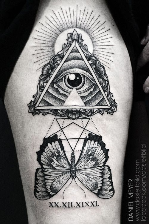 Illuminati Tattoos Untara Elkona
