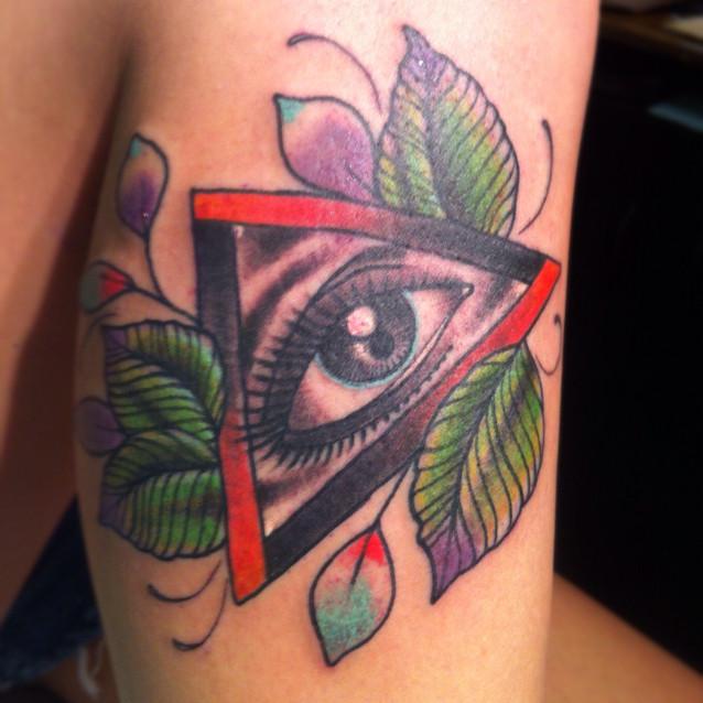 Color Illuminati Eye T...