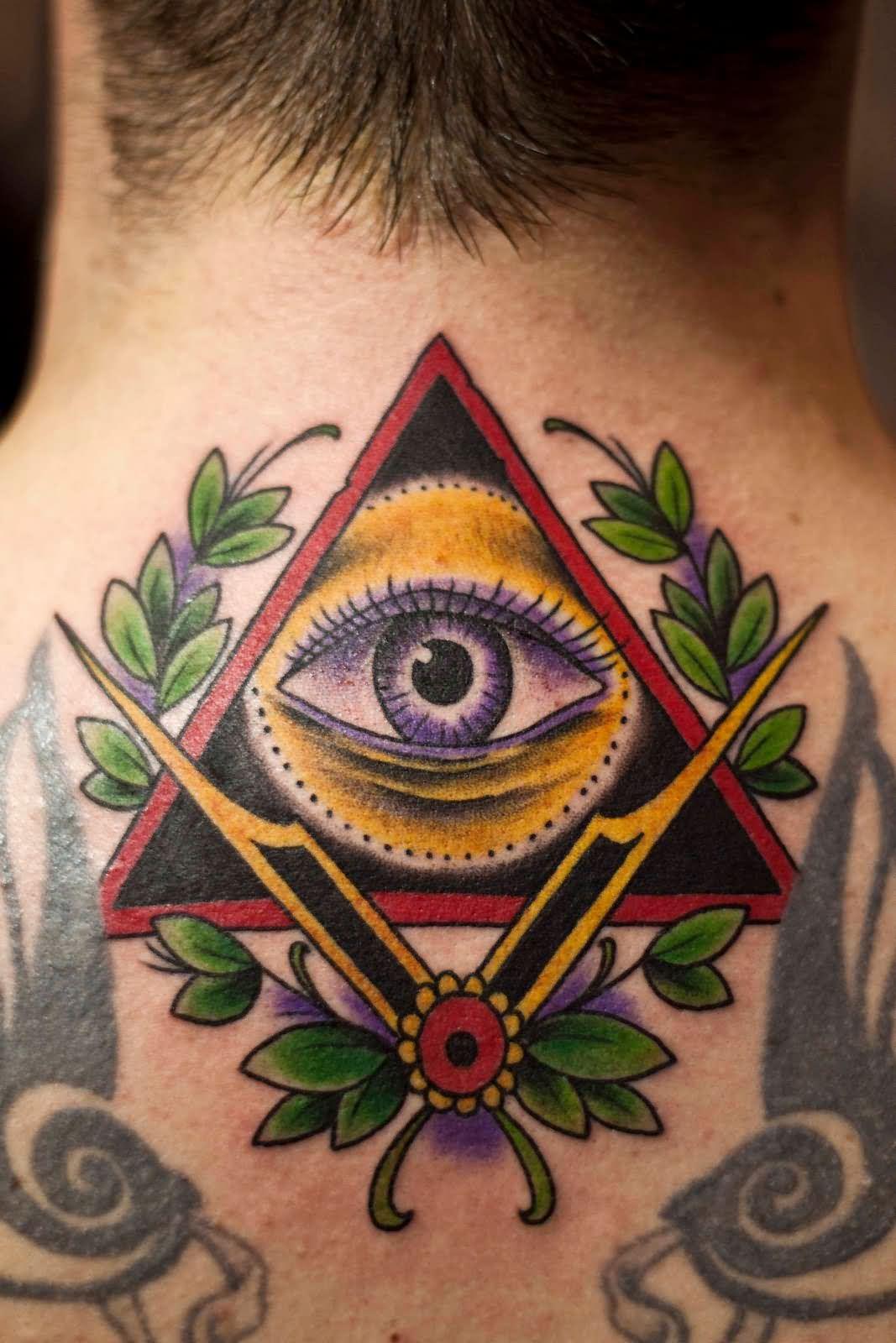Глаз на пирамиде тату означает