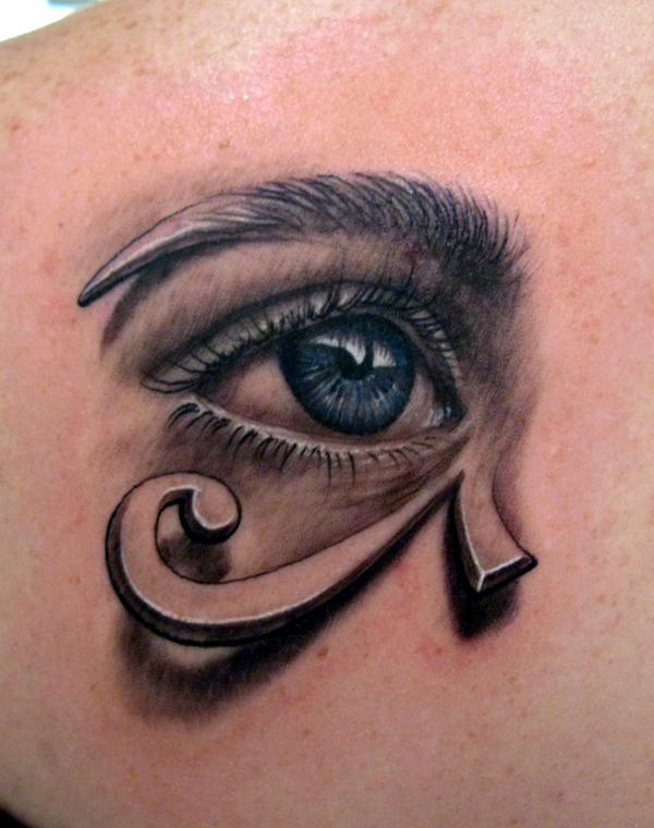 Horus eye tattoo images designs for Eye tattoos designs