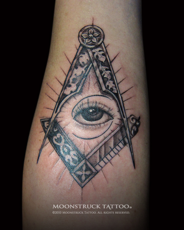 illuminati eye tattoo the image kid has it. Black Bedroom Furniture Sets. Home Design Ideas