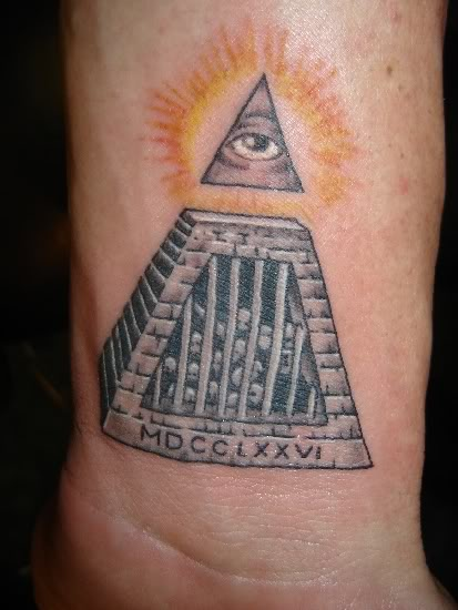 ILLUMINATI TATTOOS - Untara Elkona
