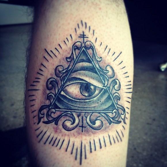 Grey Ink Illuminati Ey...