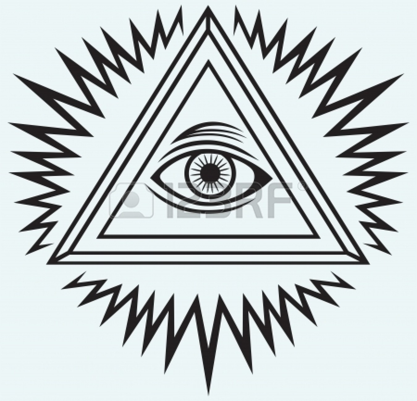 Illuminati Eye Drawings Illuminati Triangle Eye