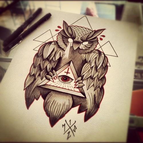 illuminati eye tattoo images amp designs