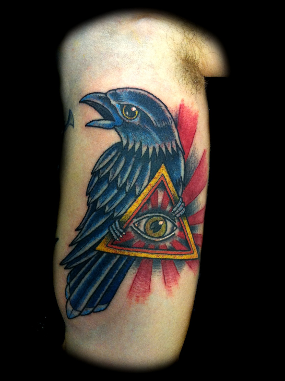 Illuminati Tattoos Designs Nice illuminati eye tattoo