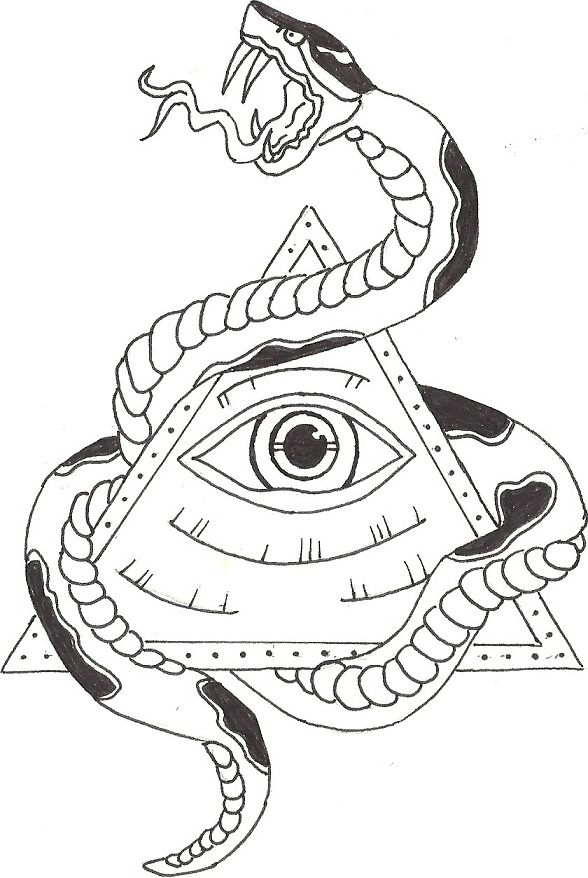 Illuminati Eye Drawings Illuminati Logo Drawing