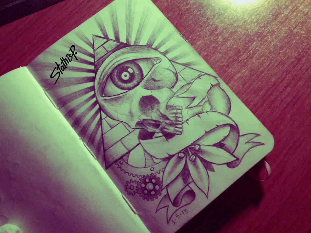 Illuminati Tattoos Designs Eye tattoo design