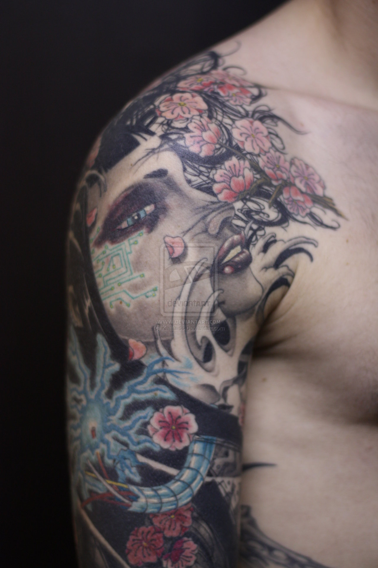 Japanese tattoo images designs for Oriental tattoo