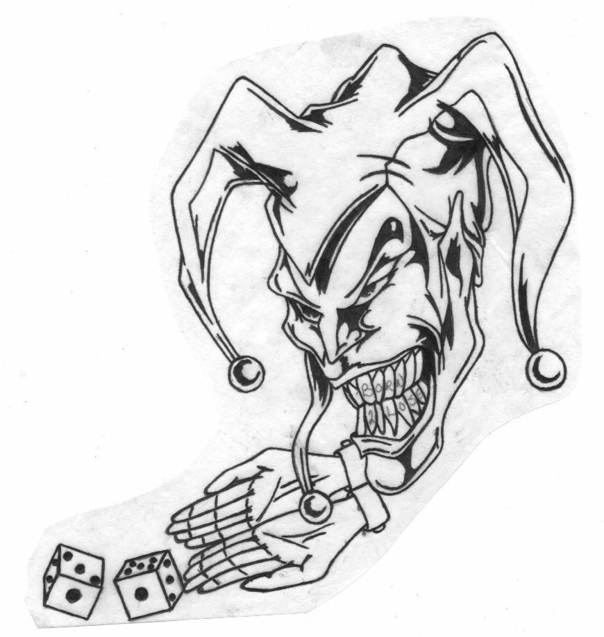 Tattoo Ideas Jester: Jester Tattoo Images & Designs