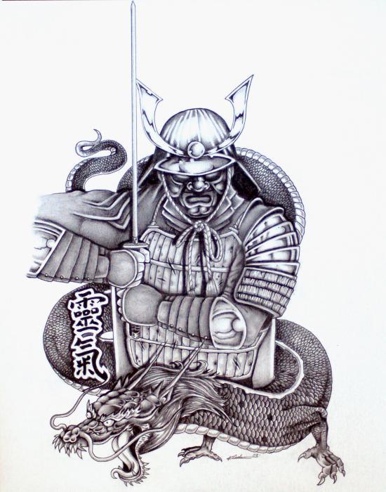 Consider, japanese warrior tattoo