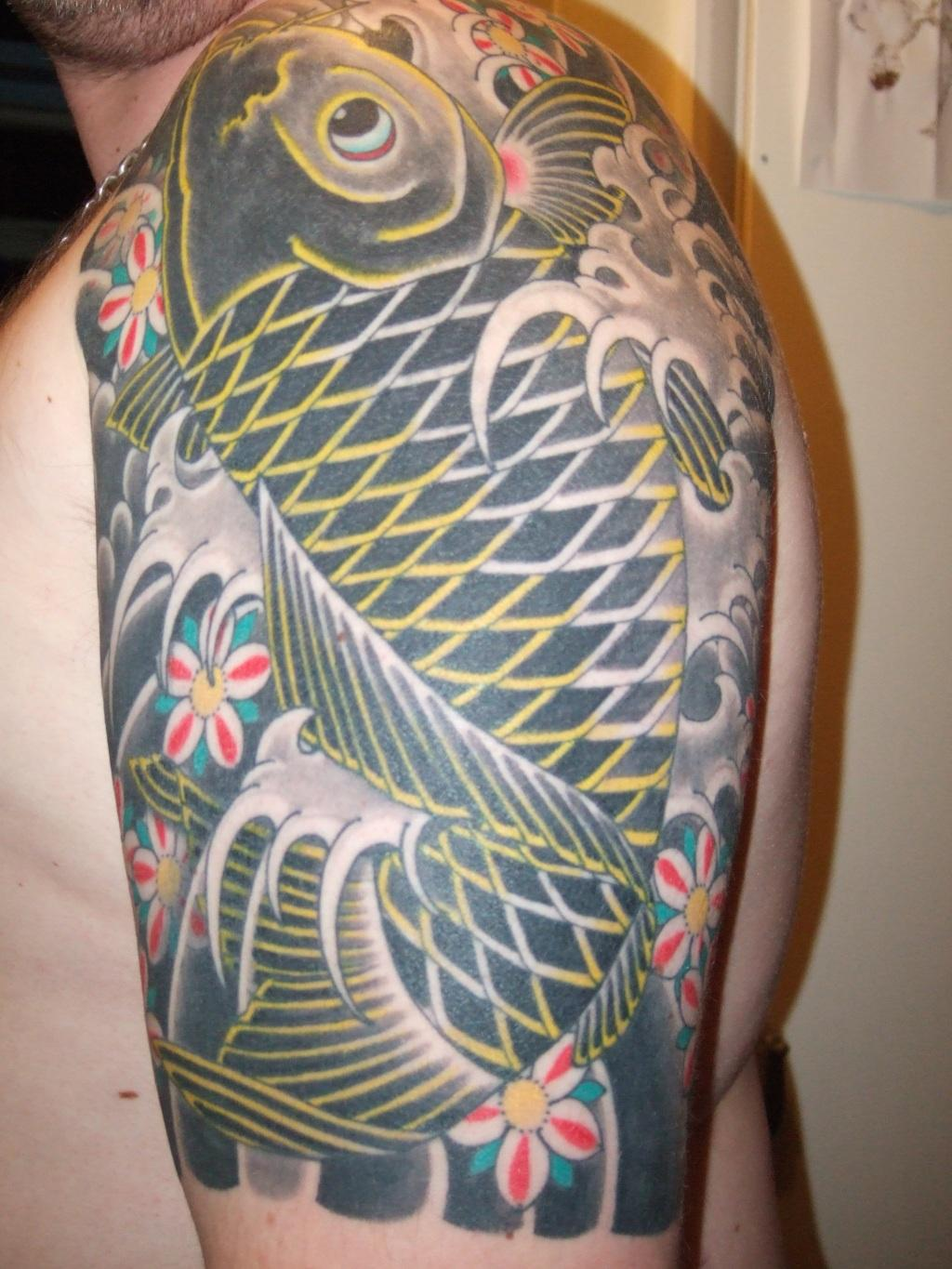 Japanese tattoo images designs for Japan tattoo koi