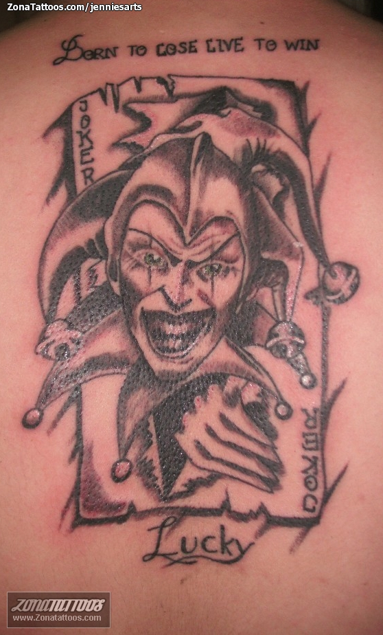 Jester Tattoo Images & Designs