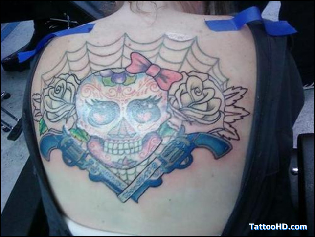 Skulls And Guns Tattoos: Jester Tattoo Images & Designs