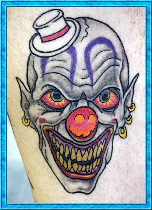 jester tattoo images designs. Black Bedroom Furniture Sets. Home Design Ideas