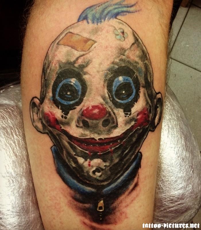 Happy Clown Tattoos Designs