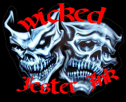 Wicked Jester Masks Tattoos Wicked Jester Skull