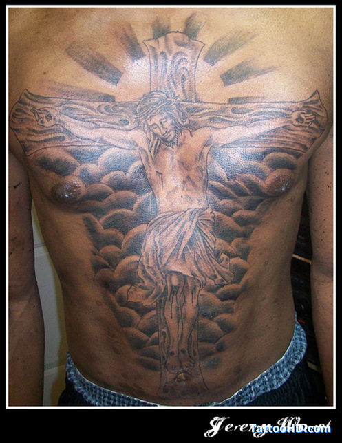 jesus tattoo images designs. Black Bedroom Furniture Sets. Home Design Ideas