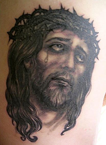 Jesus Tattoo Images & Designs