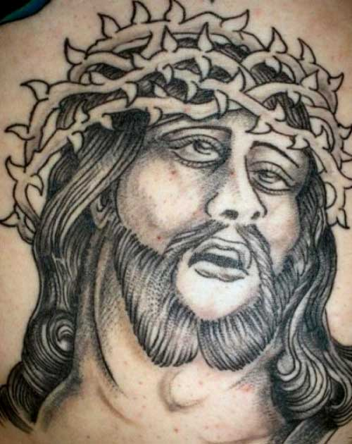 American Traditional Jesus Tattoo Flash Images &amp Pictures