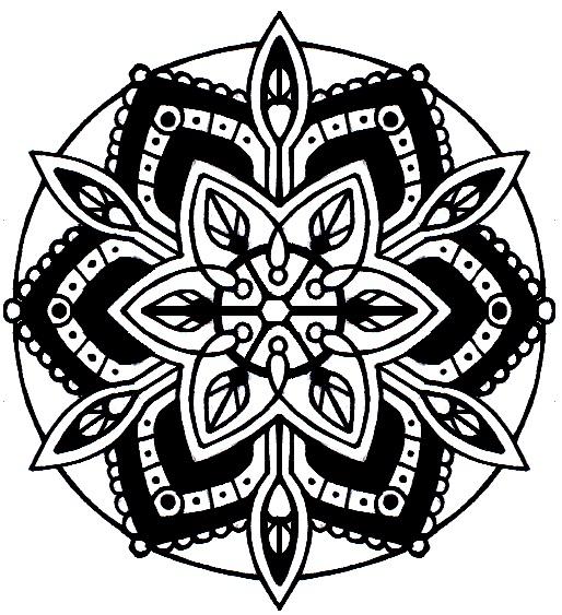 Amazing Flower Of Life Mandala Tattoo Design