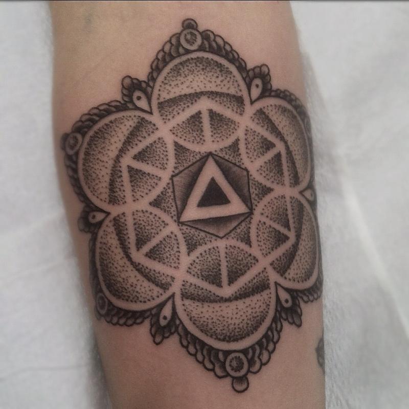 Flower Mandala Tattoo Meaning Mandala Flower Tattoos on