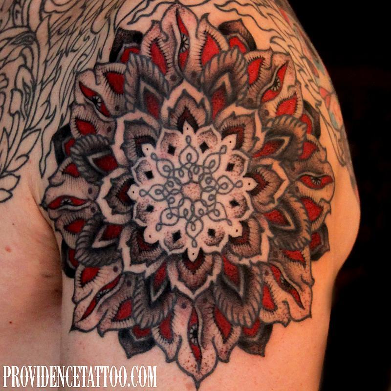 Mandala And Flower Tattoo: Mandala Tattoos : Page 57