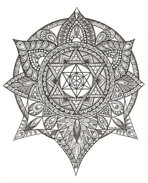 Cute Mandala Tattoos Design