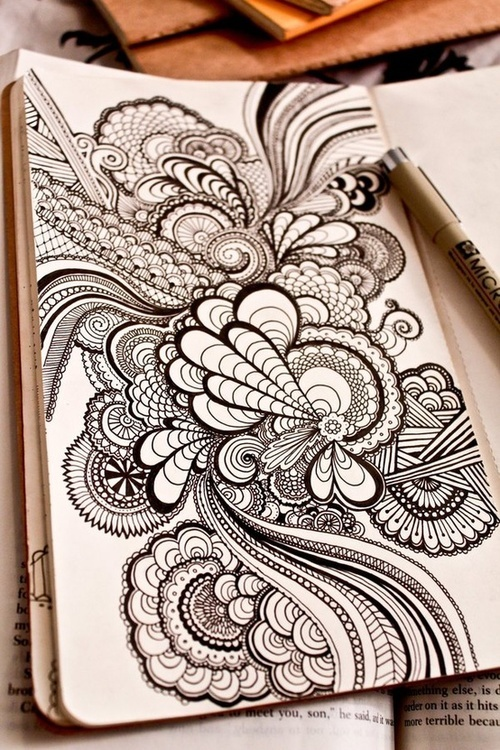 Henna Mandala Tattoo Design