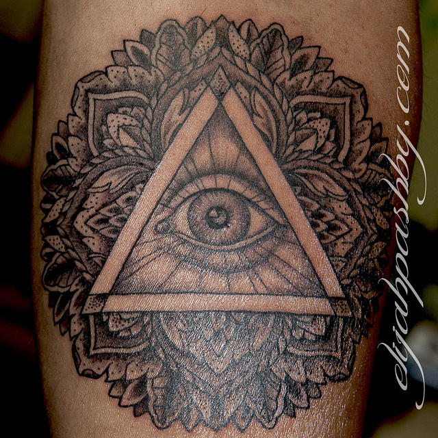 Illuminati Eye Tattoo Meaning All Seeing Eye