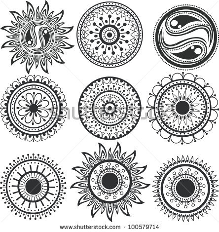 Flower Mandala Tattoo Meaning Mandala Flower Tattoos Designs