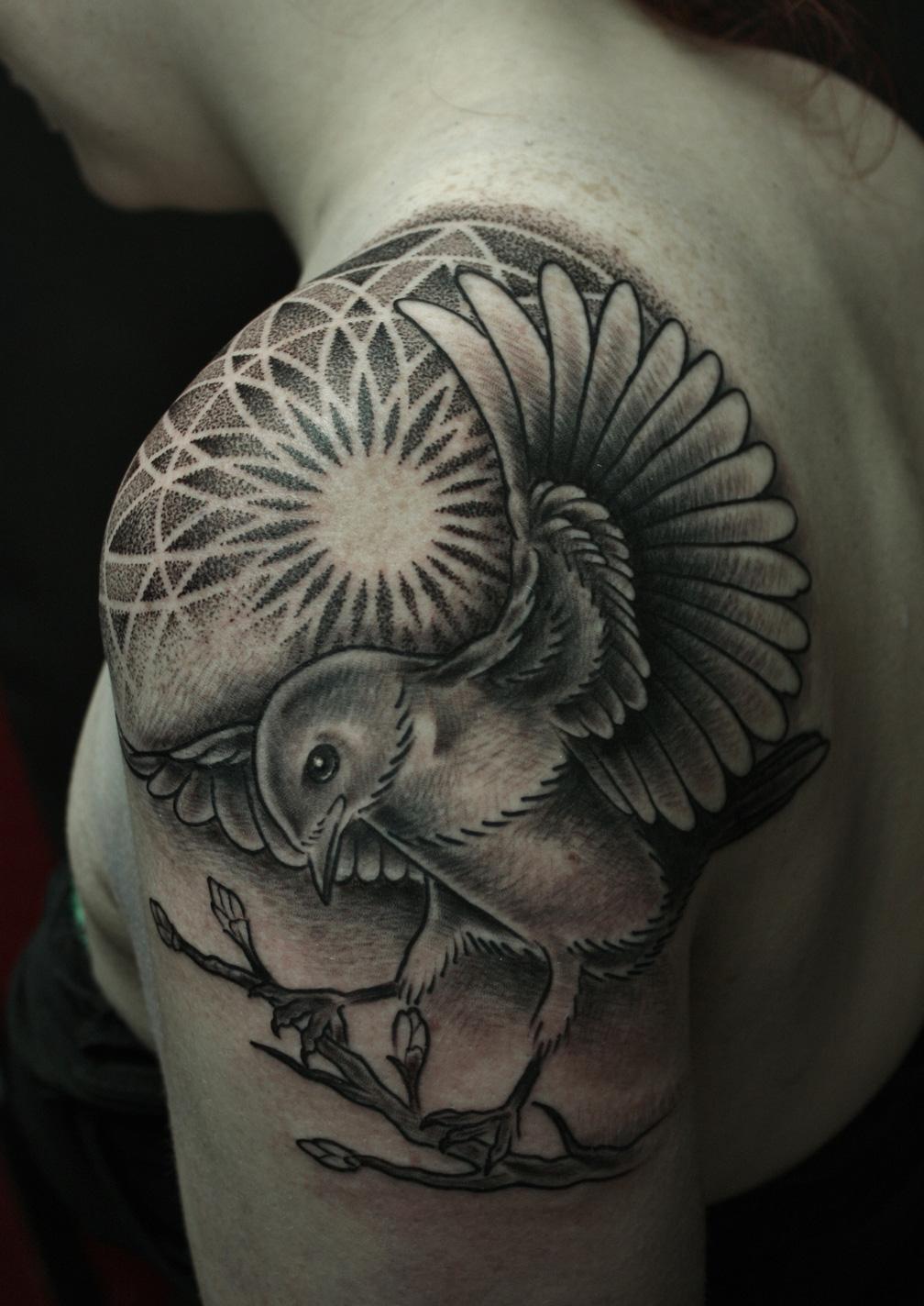 Flower Mandala Tattoo Meaning Mandala Flowers Tattoos on