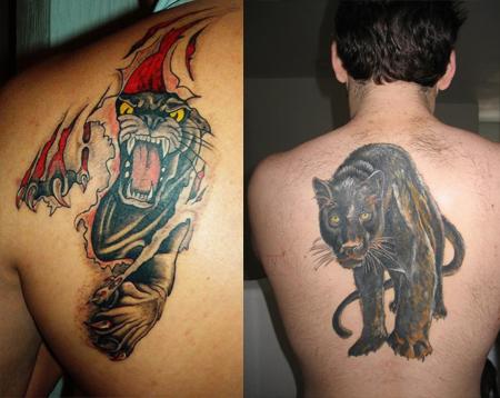 panther tattoo images designs. Black Bedroom Furniture Sets. Home Design Ideas