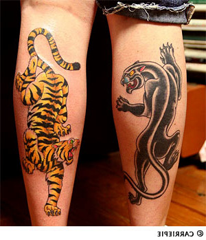 Panther tattoo images designs for Panther tiger tattoo