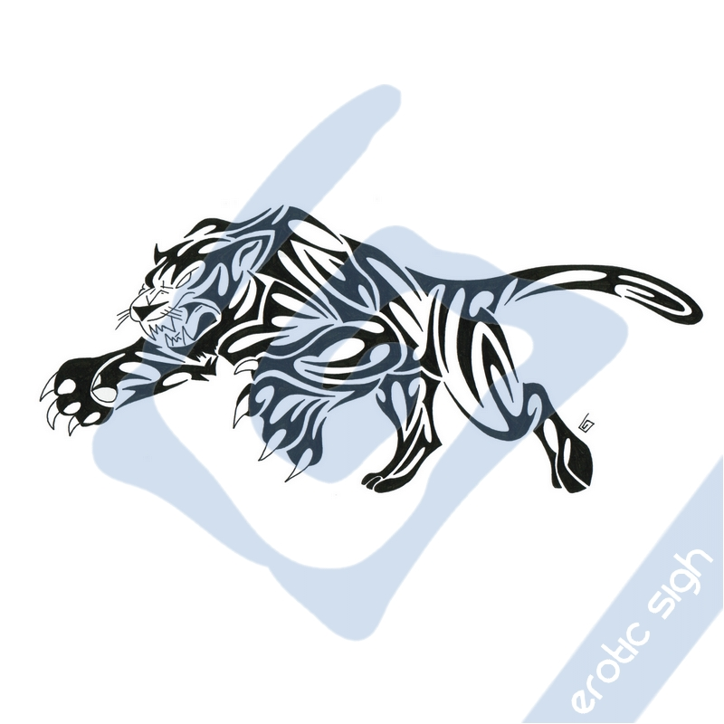 Tribal panther tattoo meaning - photo#26
