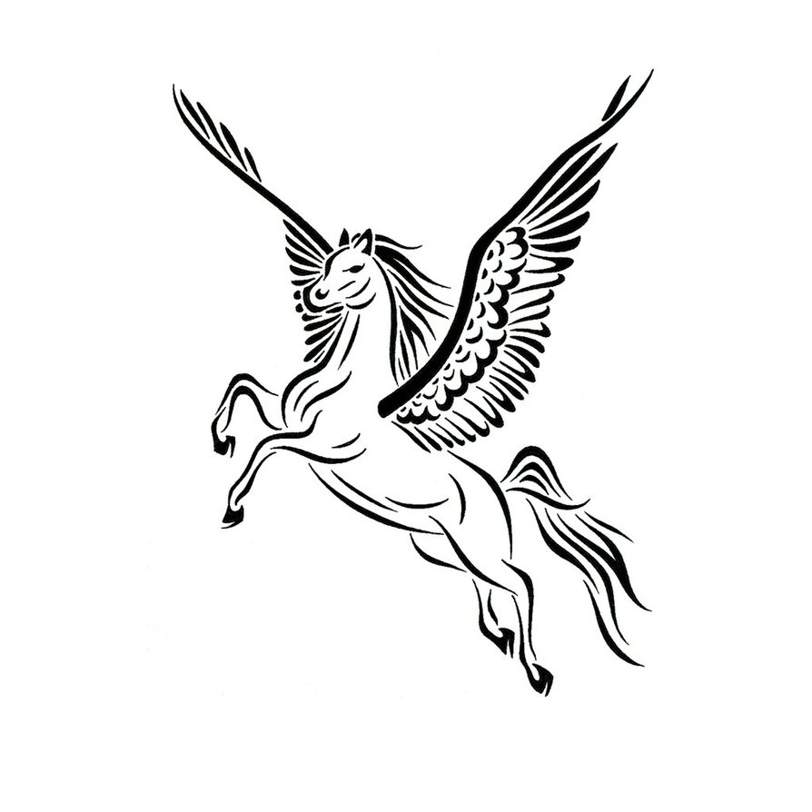Pegasus Tattoo Images amp Designs