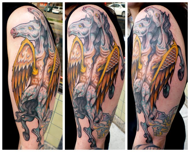 pegasus tattoo images amp designs