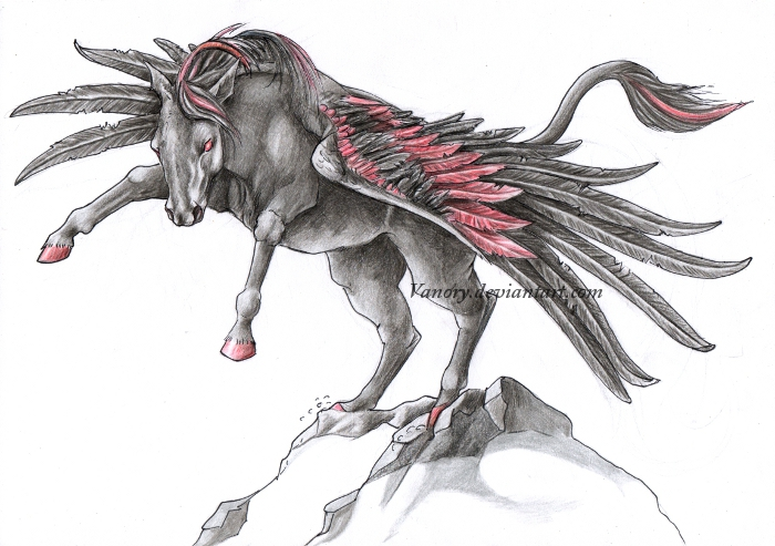 Pegasus Tattoo Images Designs