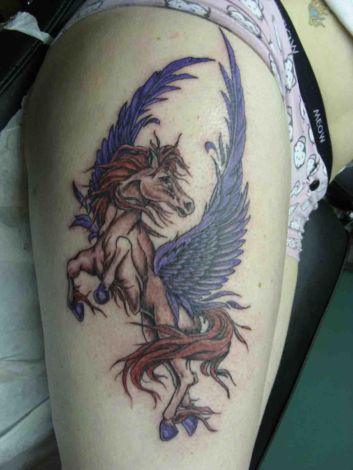 Pegasus Tattoo: Pegasus Tattoo Images & Designs