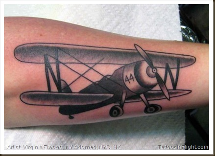Airplane Tattoo Images Amp Designs