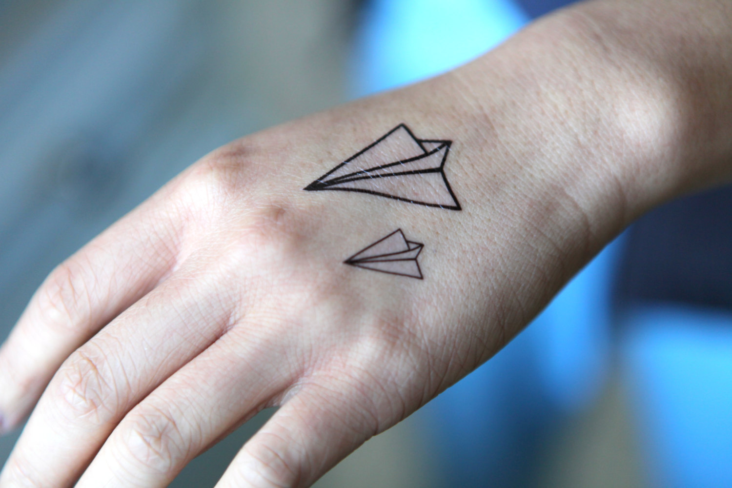 Airplane Tattoo Images Designs