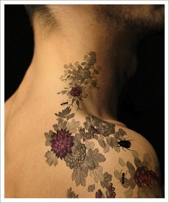 Floral Tattoos on Floral Tattoos Pictures And Images   Page 16