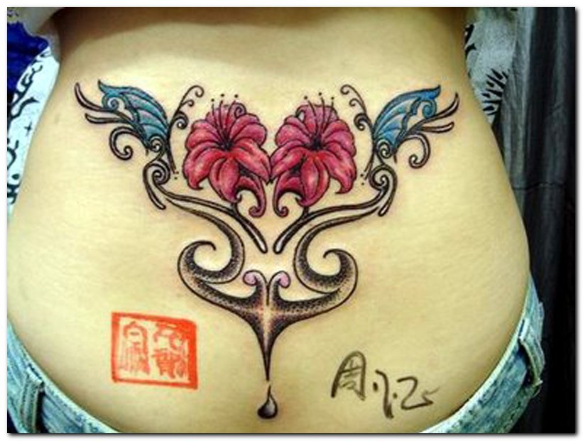 Lower Back Flower Tattoos: Floral Tattoo Images & Designs