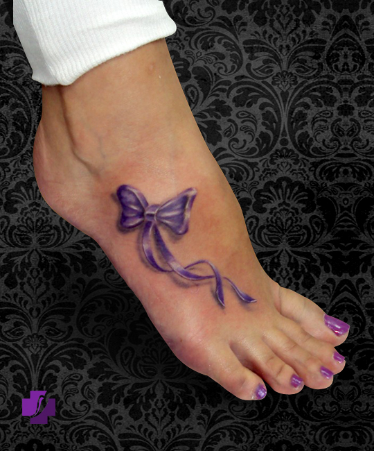 Bow tattoos page 36 for Bow tattoos on ankle