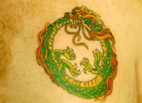 Celtic Greenman Armband: Ouroboros Tattoo Images & Designs