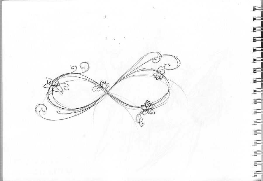 List Of Synonyms And Antonyms Of The Word Heart Infinity Tattoo Designs