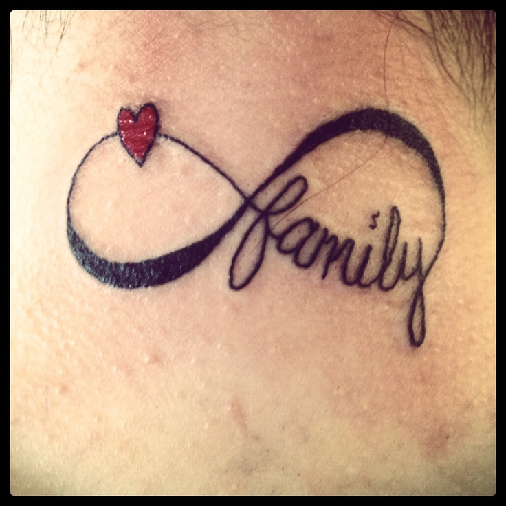 Heart And Infinity Tattoo: Infinity Tattoo Images & Designs